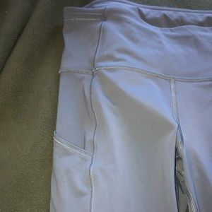 LULULEMON NWOT Gray Fast and Free Leggings Long